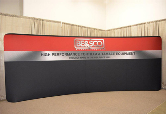 EcoTube 20 ft Curved Display