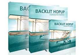 New Backlit Hopup Displays