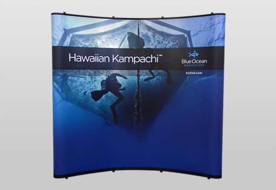 Value 8 ft Pop-Up Display
