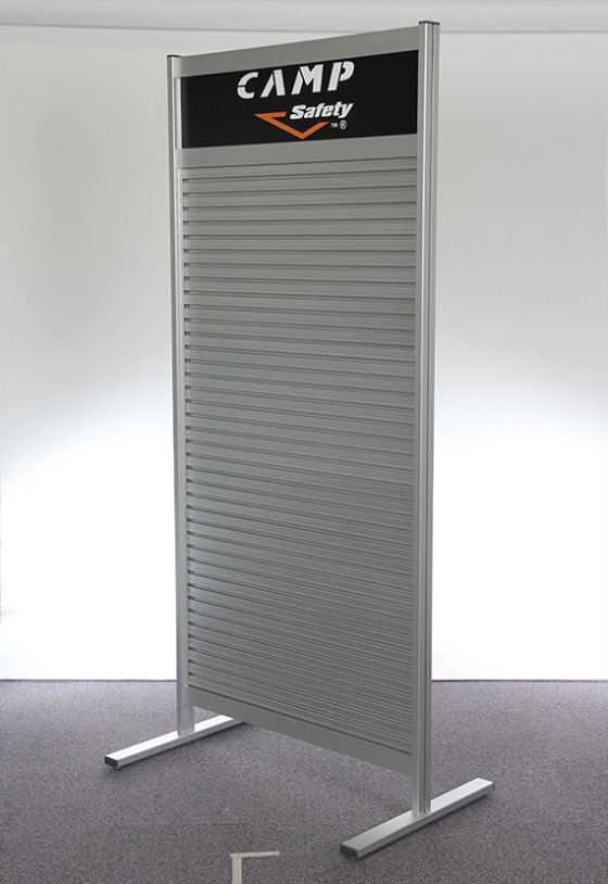 Premium Freestanding Slatwall Display