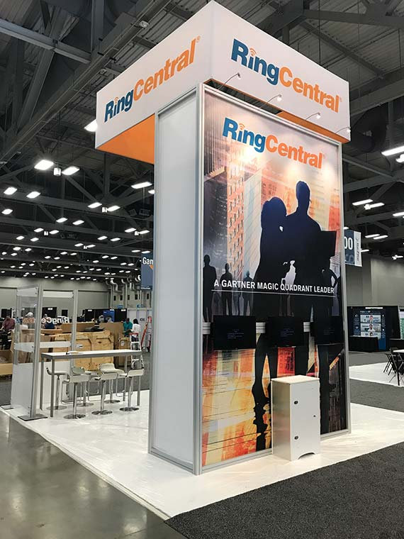 20 x 20 Custom Modular Trade Show Display