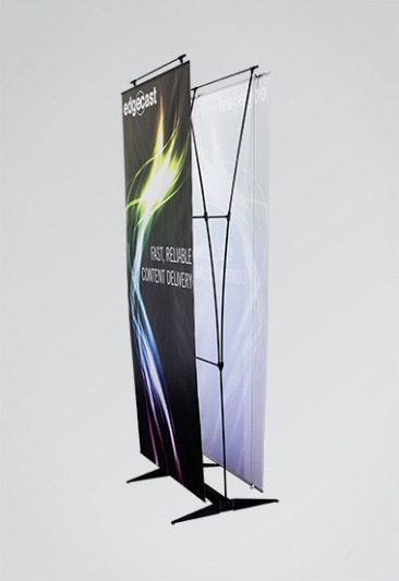 Penguin Cable Banner Stand - Double-Sided
