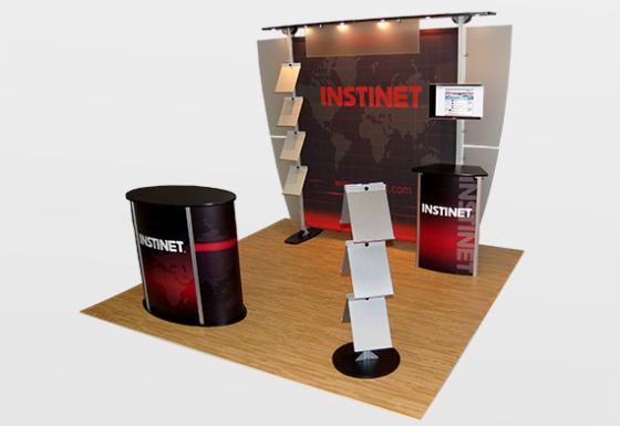 10 x 10 Exhibit Line Booth