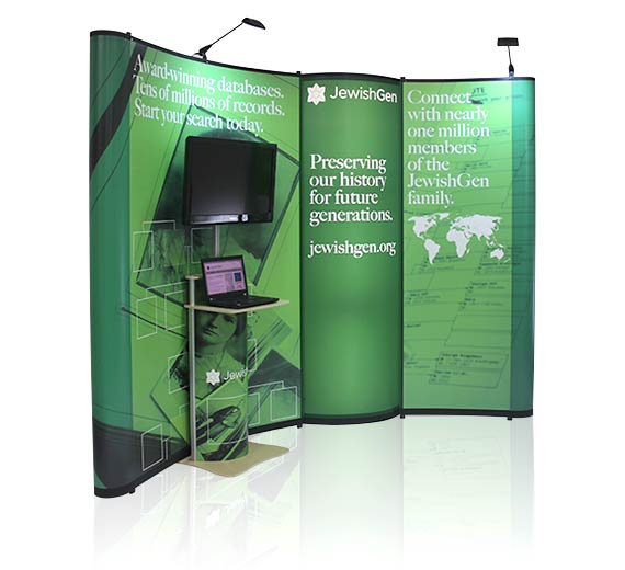 10 x 10 Pop-Up Displays