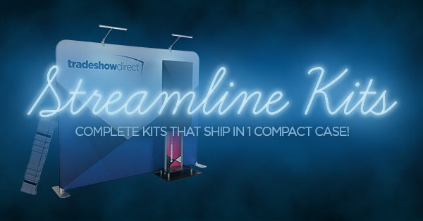 Streamline Kits - Complete Trade Show Kits that Ship in a Single Case