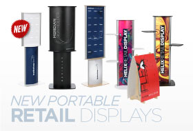 New Portable Retail Displays